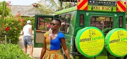 Richest singer Akothee asks her lover to lose weight after fans complained