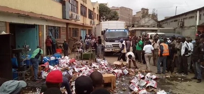 Alcohol Worth Millions Destroyed In Kayole 'Illicit Brew' Crack Down
