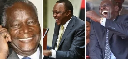 The day the late stern Nicholas Biwott reduced President Uhuru to tears (video)