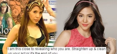 Twitter alert! Protective mom Jenine Desiderio threatens mystery guy linked with Janella to reveal his identity if he does not straighten up
