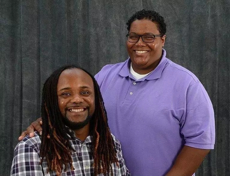 Tommy Young-Dennis (left) and De'Sean Young-Dennis
