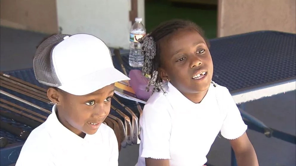 Awe-inspiring! These young sisters are so good in golf that they have been tipped 'The Williams' siblings of golf
