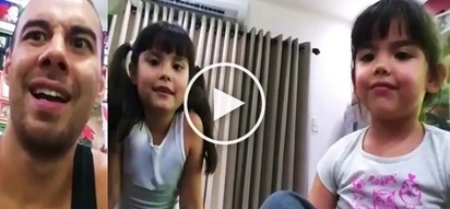 Watch Kendra wow her dad Doug Kramer by translating English Bible verse into Chinese!