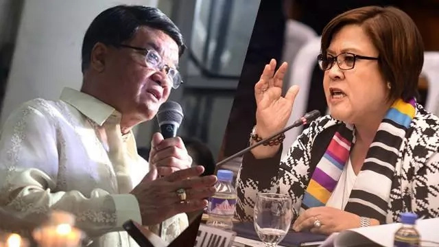 Justice Secretary Aguirre announced 14 witnesses vs De Lima