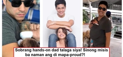 Super proud si Kaye Abad! Precious father and son moments of Paul Jake and Joaquin caught on video