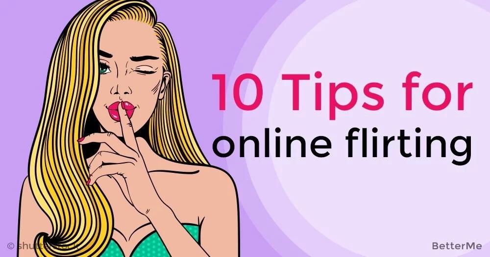 10 tips for online flirting