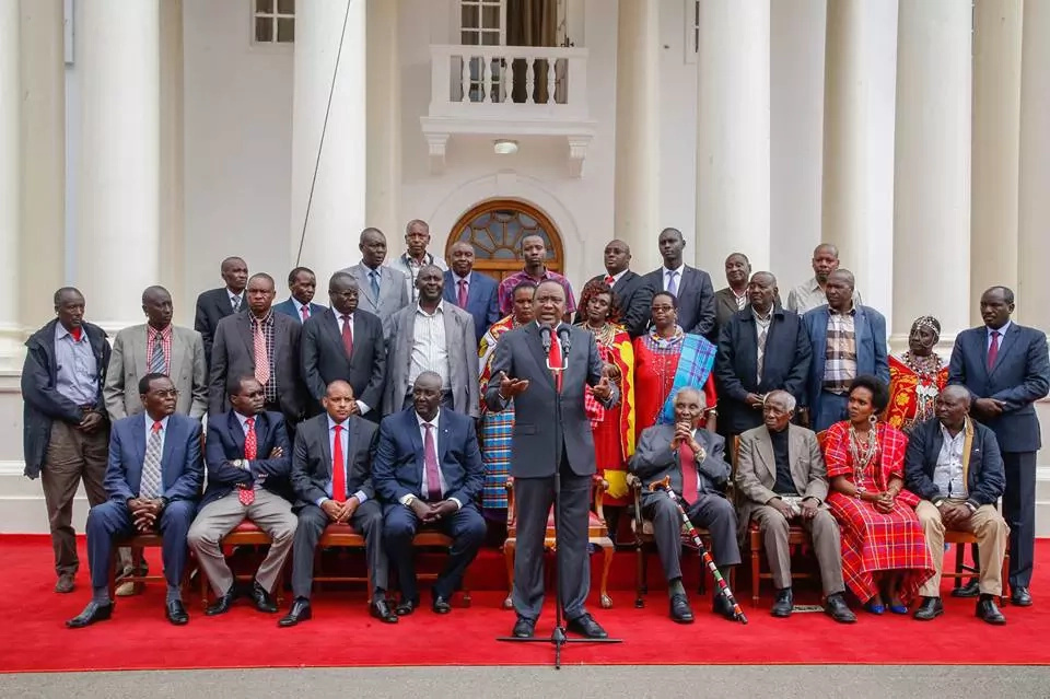Maasai leaders announce decision to join Jubilee Party