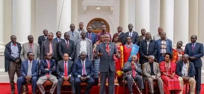 ODM veteran politician leads Maasai leaders to Jubilee party
