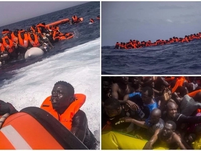 The crisis continues! 167 migrants rescued in Mediterranean sea as 13 die trying to reach Europe