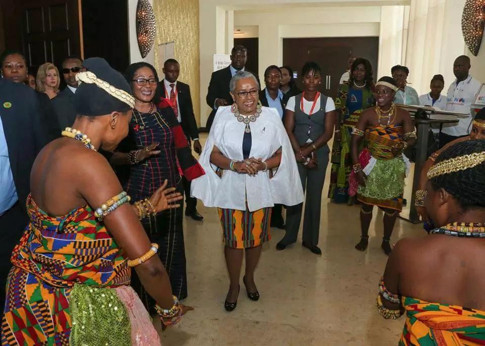 12 times First lady Margret Kenyatta impressed the world with her Kenyan fashion (photos)