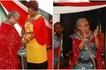 First Lady Margaret Kenyatta slays in red Maasai regalia during campaigns (PHOTOS)