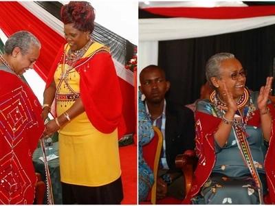 Mkewe Uhuru Kenyatta avalia mavazi ya kitamaduni na anapendeza kweli (picha)