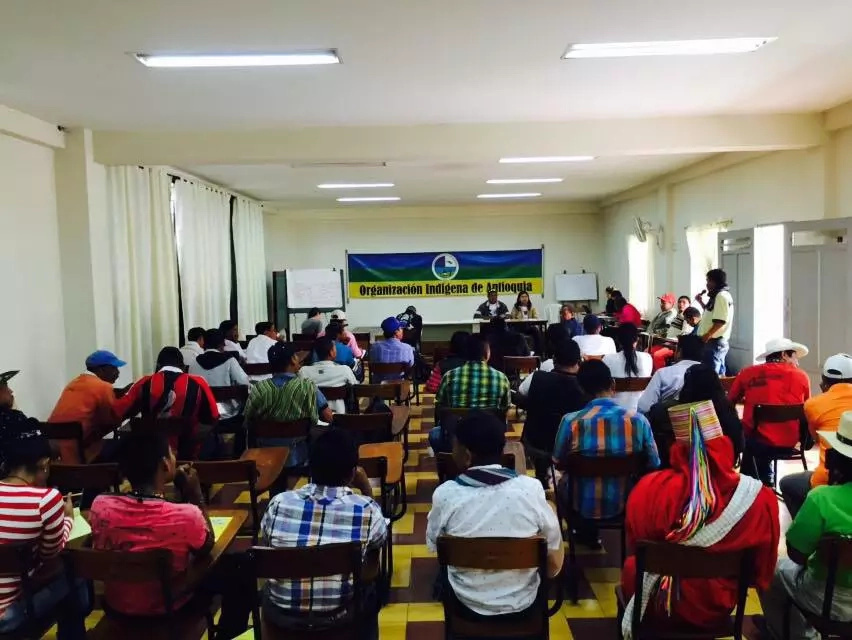 Indígenas de Antioquia no están satisfechos con la administración actual