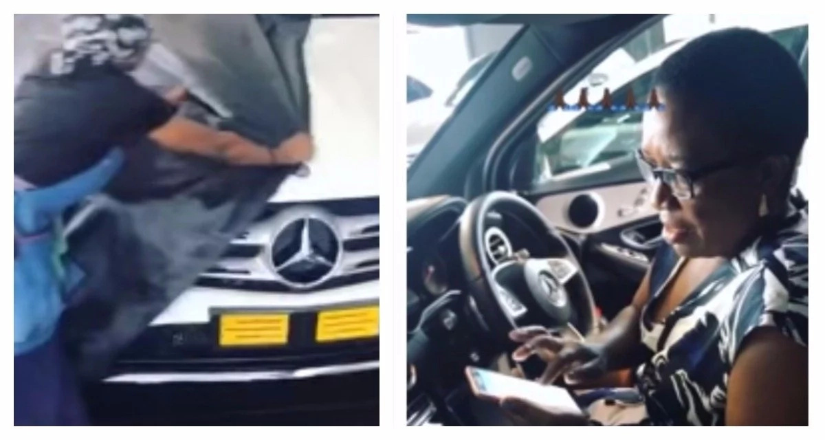 What did you get your mom for Christmas? Black Coffee got his mom an R850 000 Mercedes Benz