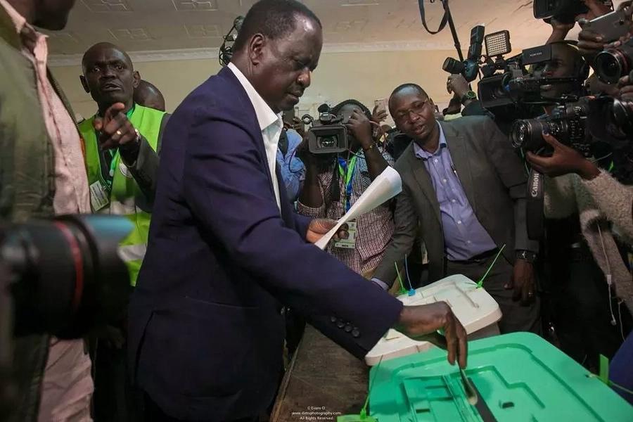 Raila adokeza kwamba ana ushahidi tosha kuhusu jinsi alivyonyang'anywa ushindi