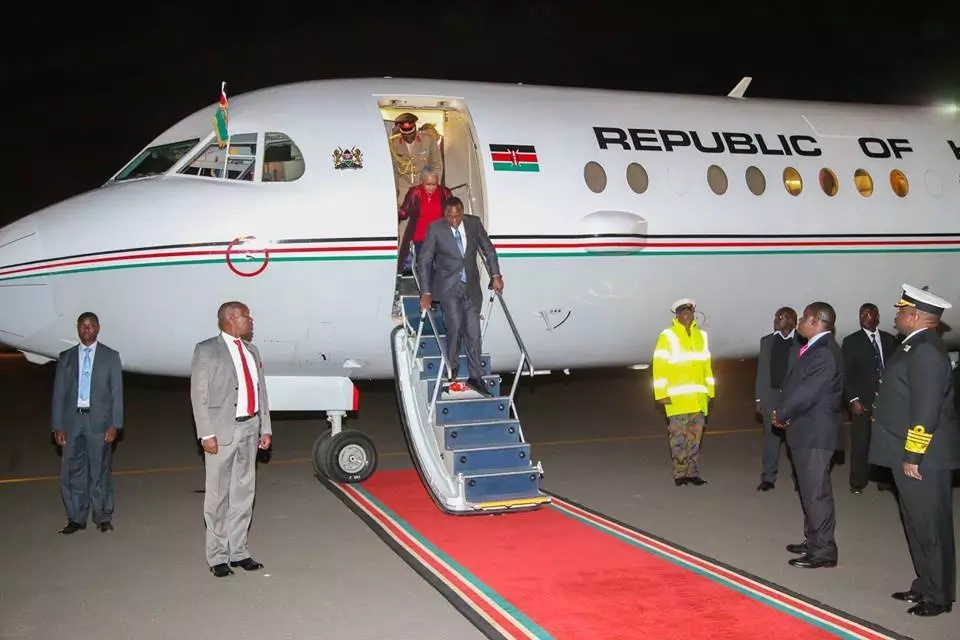 Acting President in Rwanda for Inauguration of Kagame