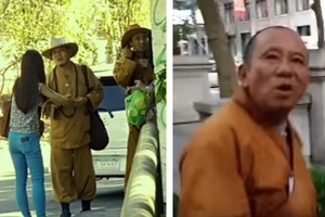 Be aware of fake monks spotted in Manila these days! They might be aggressive! Please, share!