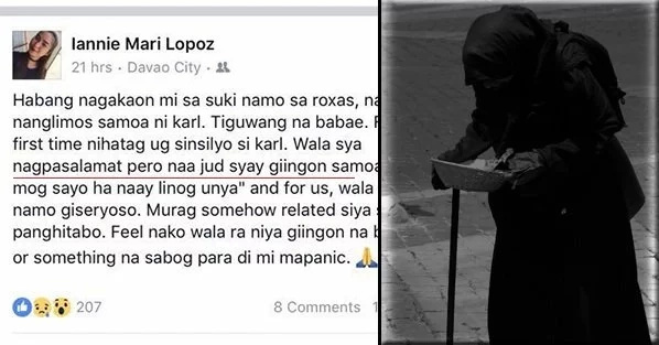 Old woman predicted the Davao City explosion