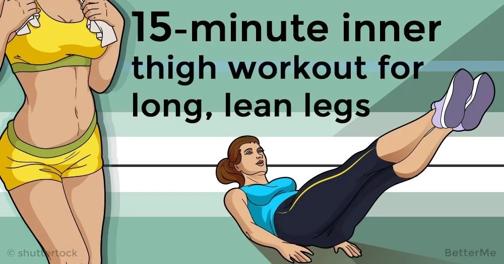 15-minute inner thigh workout for long, lean legs
