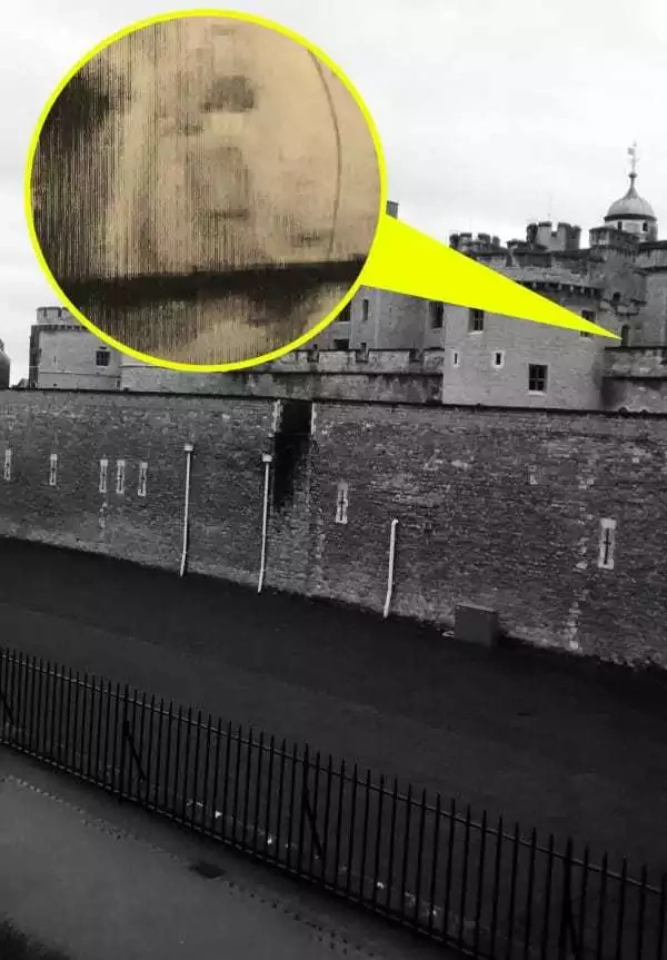 The ghost of Prince Edward haunts the Tower of London