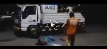 Passers-by take exhausted driver sleeping on Commonwealth Avenue  as dead