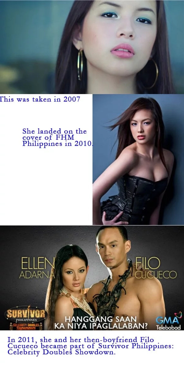 Ellen Adarna from 2005 to 2017: from charming teen to femme fatale