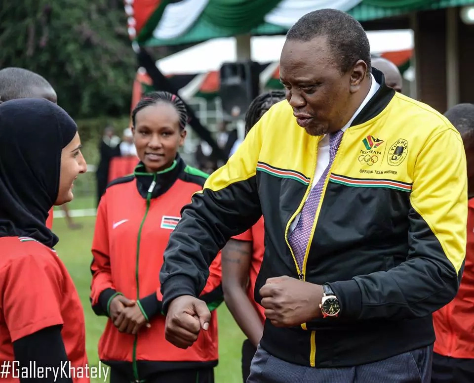 President Uhuru makes fun of his foreign trips