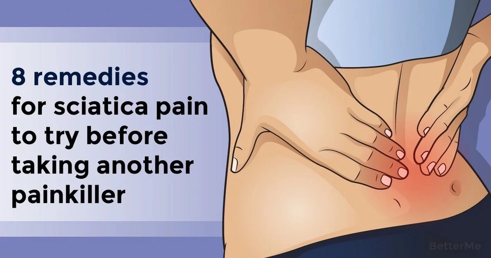 8 remedies for sciatica pain to try before taking another painkiller