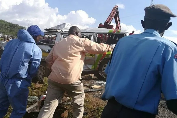 kericho accident