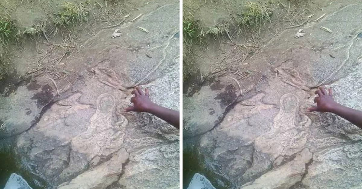 PHOTO: Virgin Mary And Baby Jesus Appear To Makueni Residents