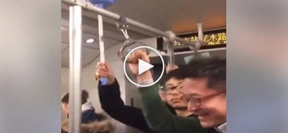 Ingenious guy brings toilet pump on train for this hilarious purpose
