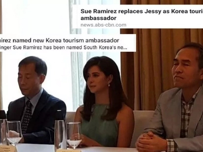 ABS-CBN gets shady on Jessy Mendiola being replaced by Sue Ramirez as Korea tourism ambassador
