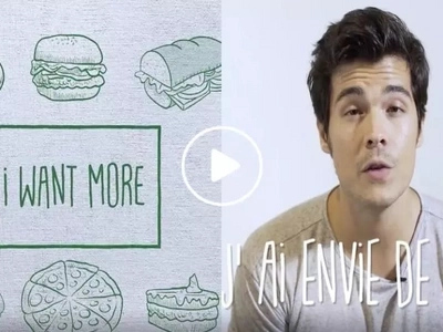 Erwan Heussaff's latest French tutorial is made for people who love to eat