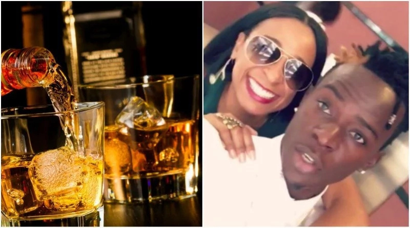 Willy Paul offered expensive alcohol in club and this is how he reacted