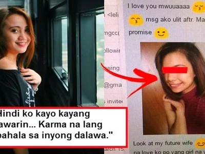 Inahas daw siya! This heartbroken Filipina netizen exposed her boyfriend's alleged relationship with her female friend!