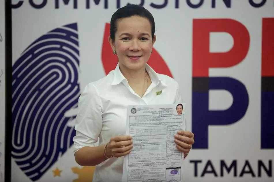 Grace Poe's hubby renounces US citizenship