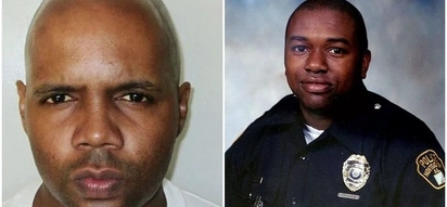 Man sentenced to death for killing cop shows middle finger moments before execution