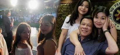 Duterte chooses Honeylet and Kitty to accompany him to first Palace party