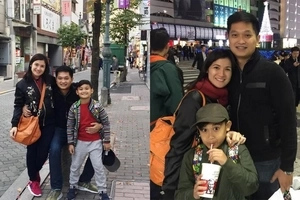 Isang pamilya na talaga sila! Camille Prats, son, and fiancé fly to Japan weeks before wedding