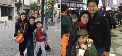 Isang pamilya na talaga sila! Camille Prats, son, and fiancé fly to Japan weeks before wedding