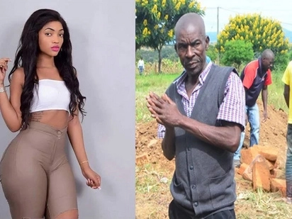 I used to warn her about being a socialite - Agness Masogange's dad opens up days after her death