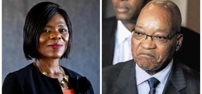 Unlikely but true: Thuli Madonsela wishes Jacob Zuma a happy birthday