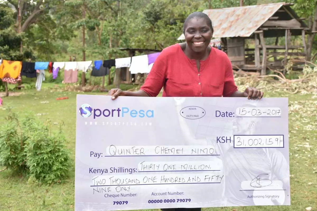 Kenyan men react to news of Bungoma lady winning Ksh 31 million