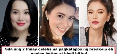 Sila ang nagmahal, nasaktan, pero tunay na nag move-on! 7 Pinay celebs who got 'better' and not 'bitter' after painful break-ups