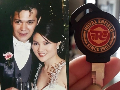 Lucky husband! Gladys Reyes has the sweetest anniversary gift ever to Christopher Roxas