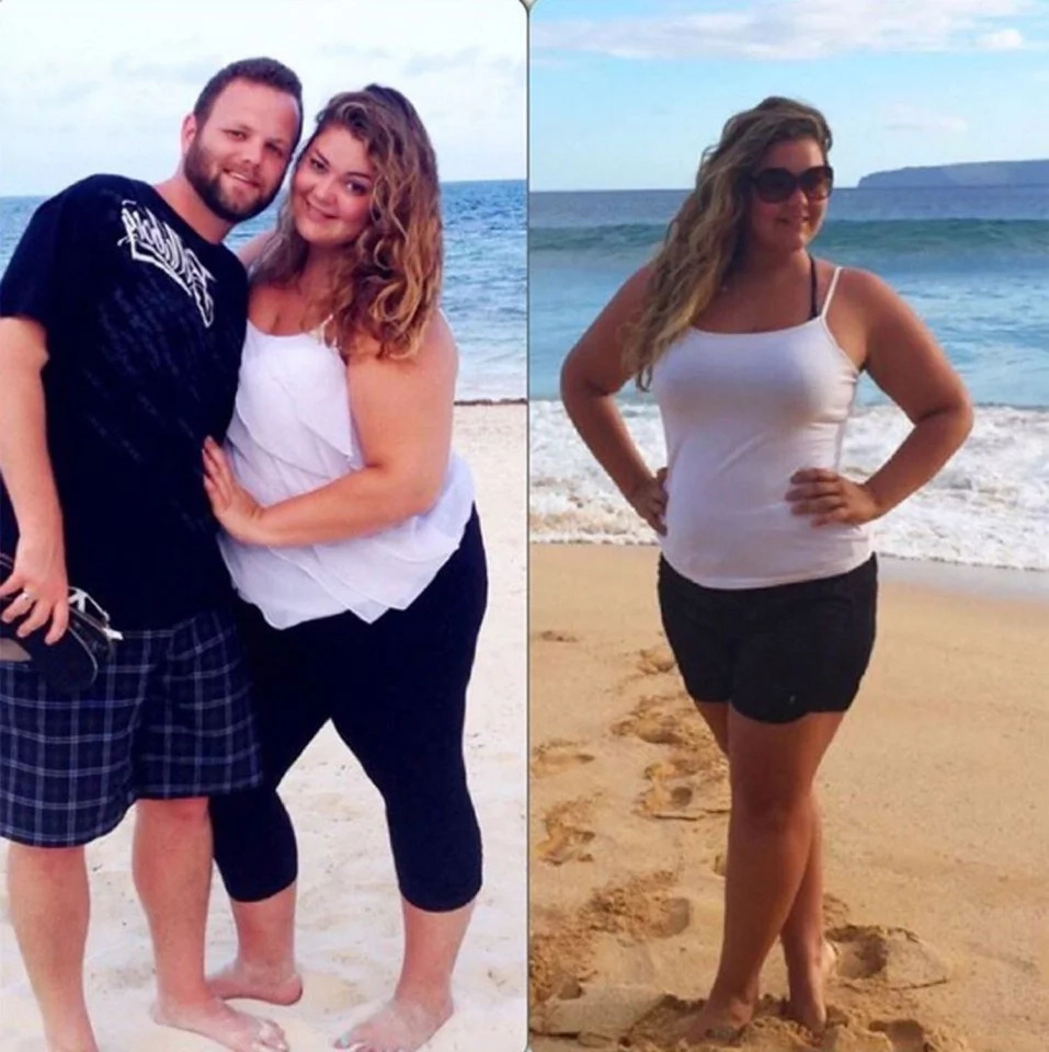 This mother-of-two battled depression and compulsive eating and won!