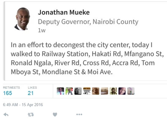 Jonathan Mueke mocked for his 'PR' tweet