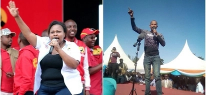Babu Owino and nominated senator lock horns on social media and its fireworks