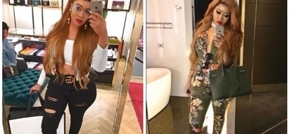 Socialite Vera Sidika whets thirsty men's appetites with tantalizing see through dress