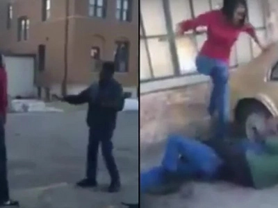 Woman Tracks Down The Man That Raped Her As A Child And Beats The Hell Out Of Him